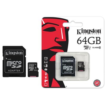 La carte microSD Canvas Select de Kingston a été 64GB Saint-etienne loire lyon rhones alpes mobishop rs l'e