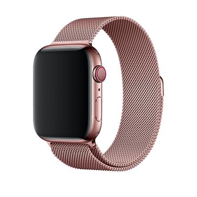 Bracelet en metal rose pour Apple Watch 42:44mm saint-etienne