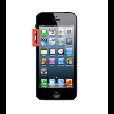 Reparation Remplacement bouton volume iphone 5 saint-etienne mobishop 2015-03-14 à 15.23.01