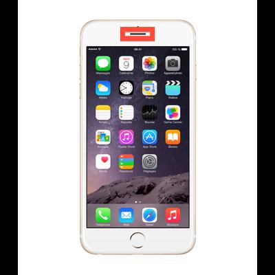 reparation ecouteur iphone 6S oreille iphone 6 plus liquide casse saint etienne reparer loire mobishop