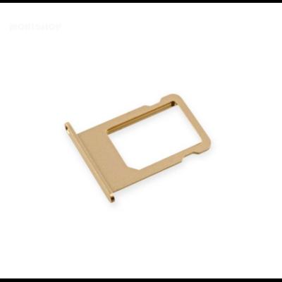 Tiroir emplacement carte sim iPhone 6S  or apple saint-etienne gold