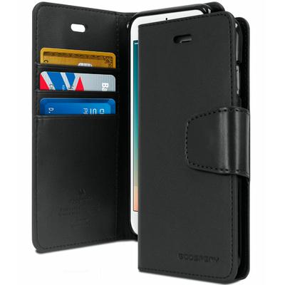 Coque étui iPhone 5 5S SE noir saint-etienne carte protefeuille rangement mobishop
