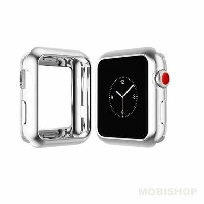 Coque Dux Ducis silicone chrome pour Apple Watch 42mm-1