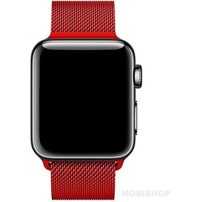 bracelet-apple-watch-maille-milanaise-red-rouge-saint-etienne-watch._AC_SX425_