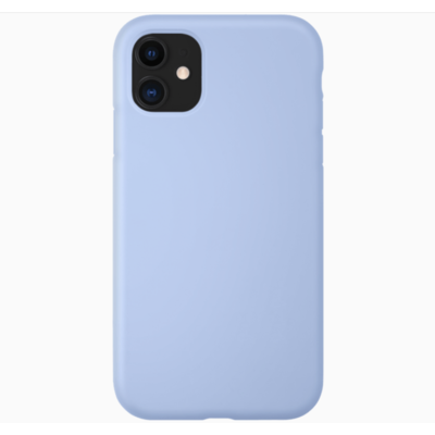 Coque silicone iPhone 11 pro bleu lila turquoise