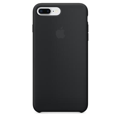 Coque en silicone pour iPhone 8 Plus  7 Plus - Noir saint-etienne