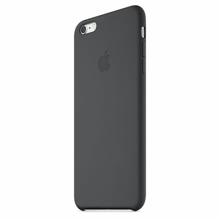 coque apple pour iphone 6 silicone noir