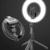 Selfie stick trépied LED 360 bluetooth noir smartphone led