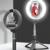 Selfie stick trépied LED 360 bluetooth noir saint-etienne