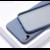 Coque silicone iPhone X XS 10 bleu baltique saint-etienne