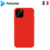 Coque silicone iPhone 11 Pro  Rouge saint-etienne