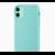 Coque silicone iPhone 11 pro max vert jade-saint-etienne