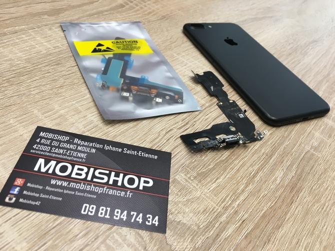 remplacement connecteur de charge iphone 7 plus actualit s mobishop. Black Bedroom Furniture Sets. Home Design Ideas