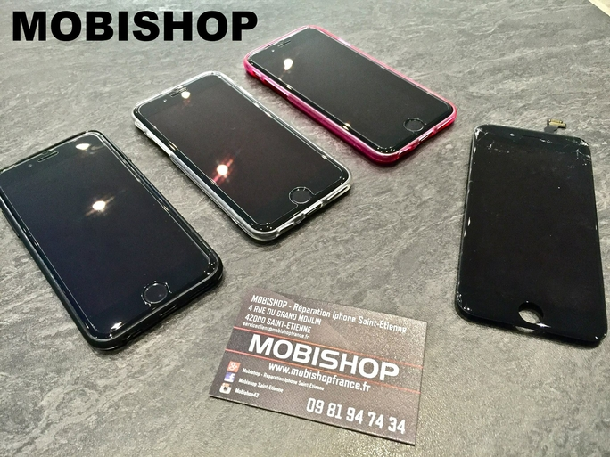 promotions r paration iphone chez mobishop saint etienne. Black Bedroom Furniture Sets. Home Design Ideas