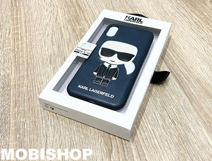 coque-lagerfeld-cuir-smartphone-iphone-x-xs-saint-etienne