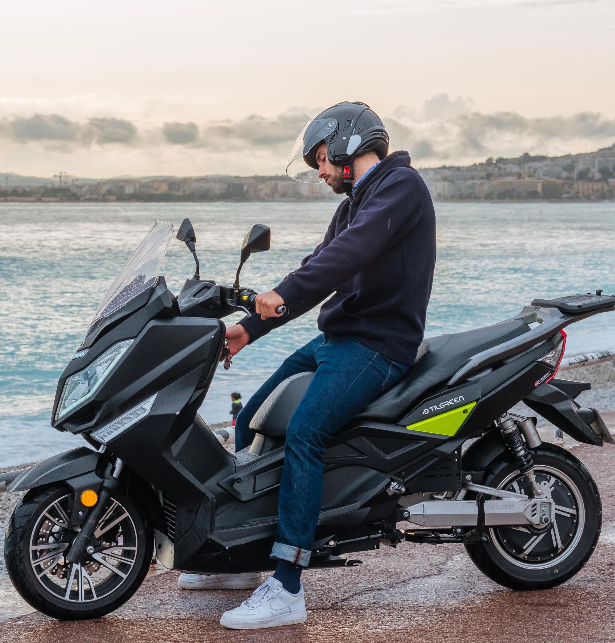 scooter électrique tilmax 125