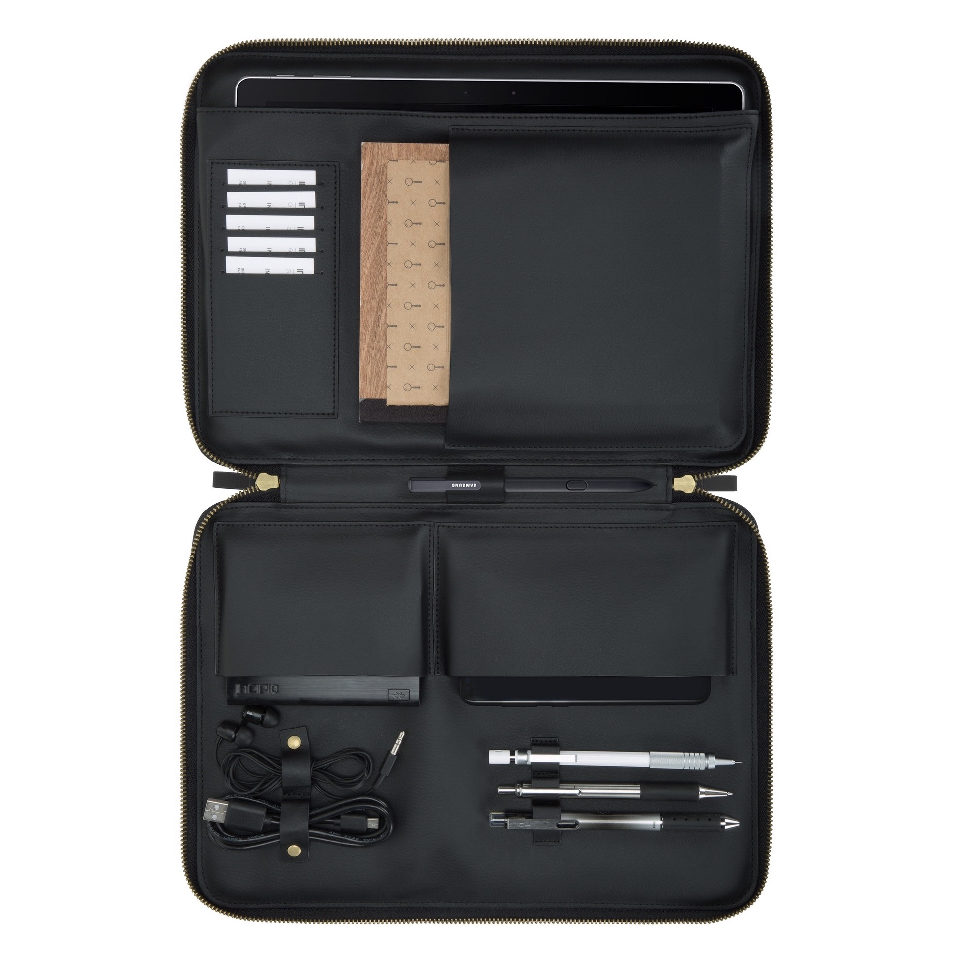Housse Multi poches Surface GO 10 pouces Carnaby Pourpre et Verre protection ecran