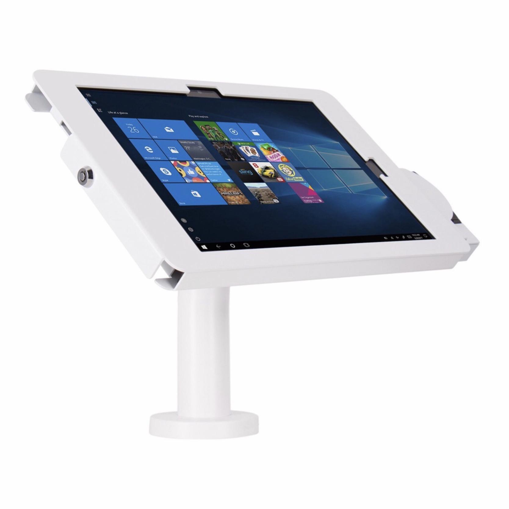 Support Stand de table SURFACE PRO 6 et Surface PRO 12.3 pouces Tubulaire Blanc