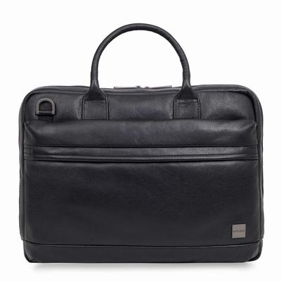 Surface LAPTOP 13.5 Foster Multi poches Sacoche en cuir veritable Noir