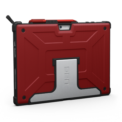 Coque Protection renforcee Microsoft SURFACE PRO Armure Magma Rouge