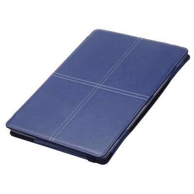 Etui Microsoft SURFACE LAPTOP 13.5 Aspect cuir Folio London Bleu