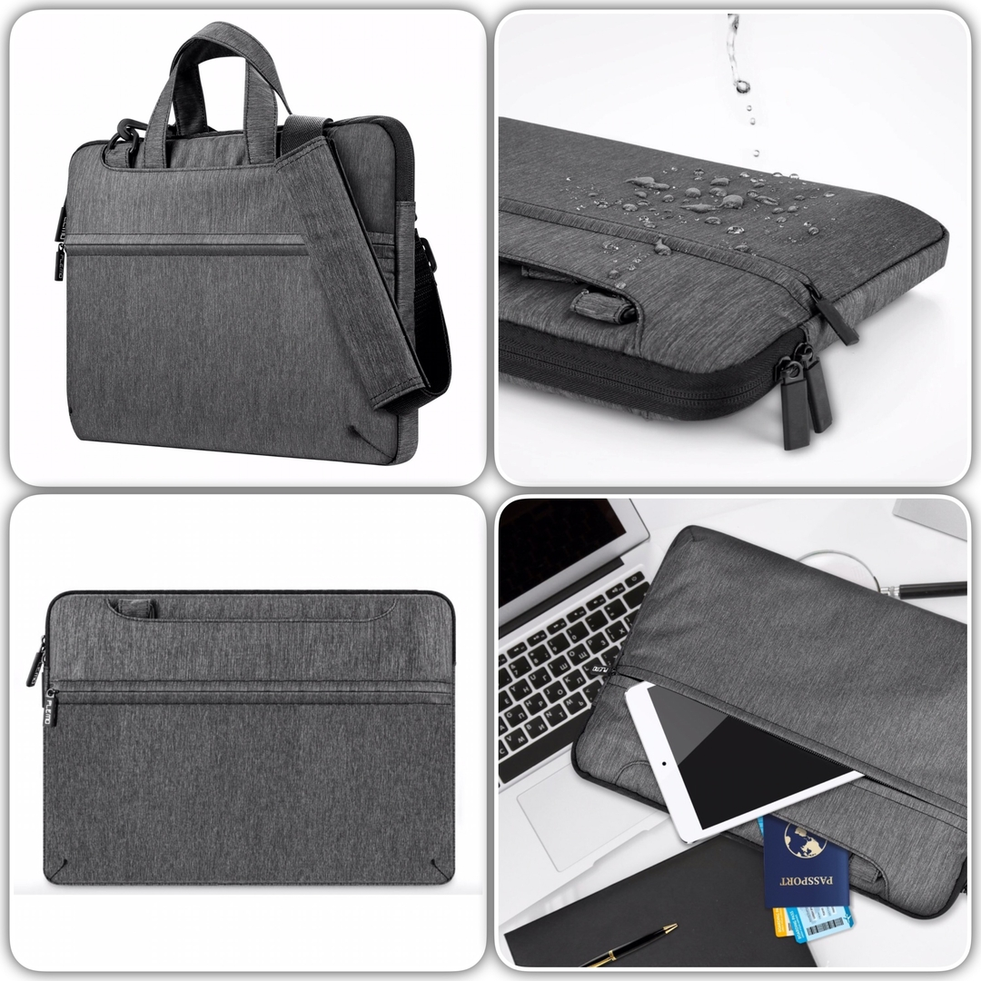 Sacoche multi poches surface pro 4 housse transport for Housse surface pro 4