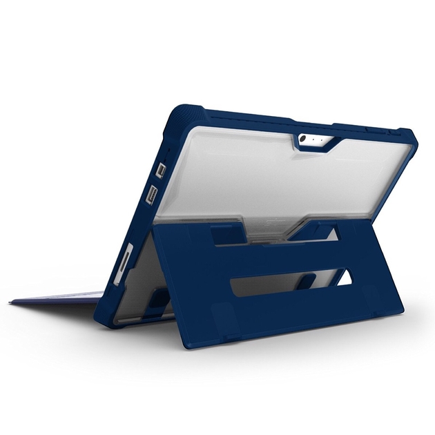 coque surface pro 4 protection renforcee porte stylet dux bleu surface pro 4 coques protection. Black Bedroom Furniture Sets. Home Design Ideas