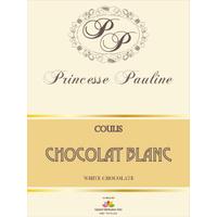 Coulis Chocolat Blanc - Bouteille 1 kg