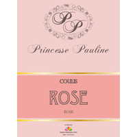 Coulis Rose - Bouteille 1 kg