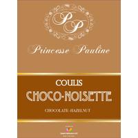 Coulis Chocolat Noisette - Bouteille 1 kg