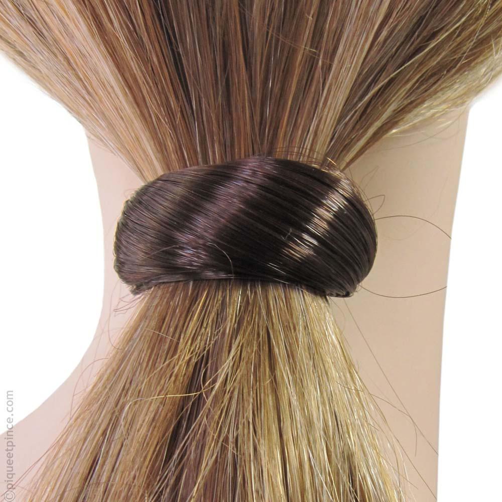 Catogan Homme Femme en cheveux synthétiques