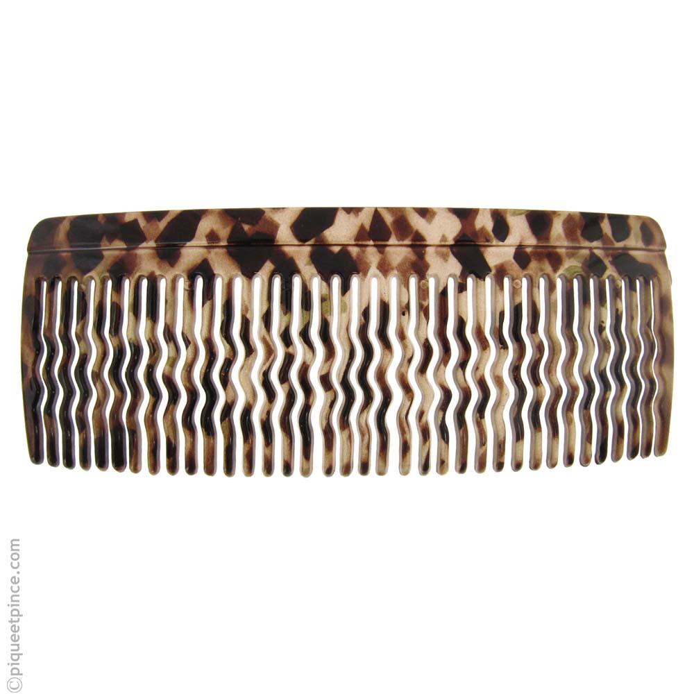 Grand peigne pour cheveux brun clair