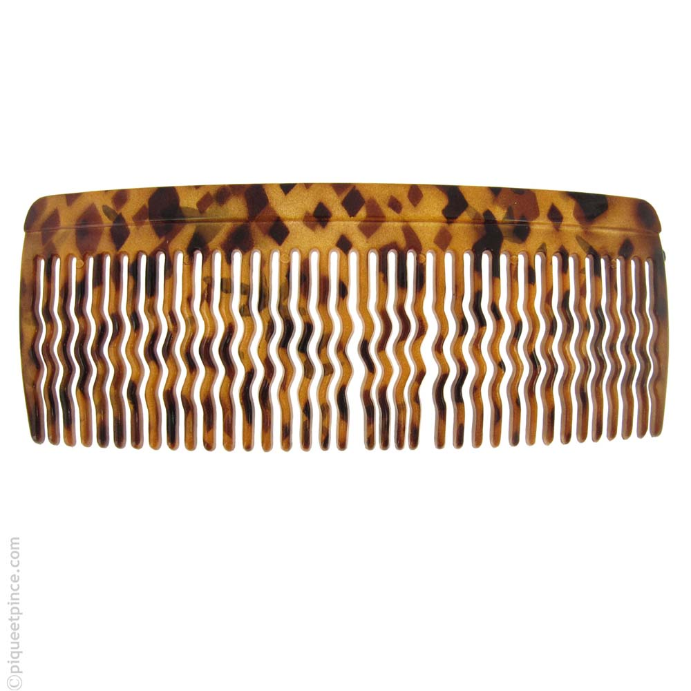 Grand peigne cheveux bruns