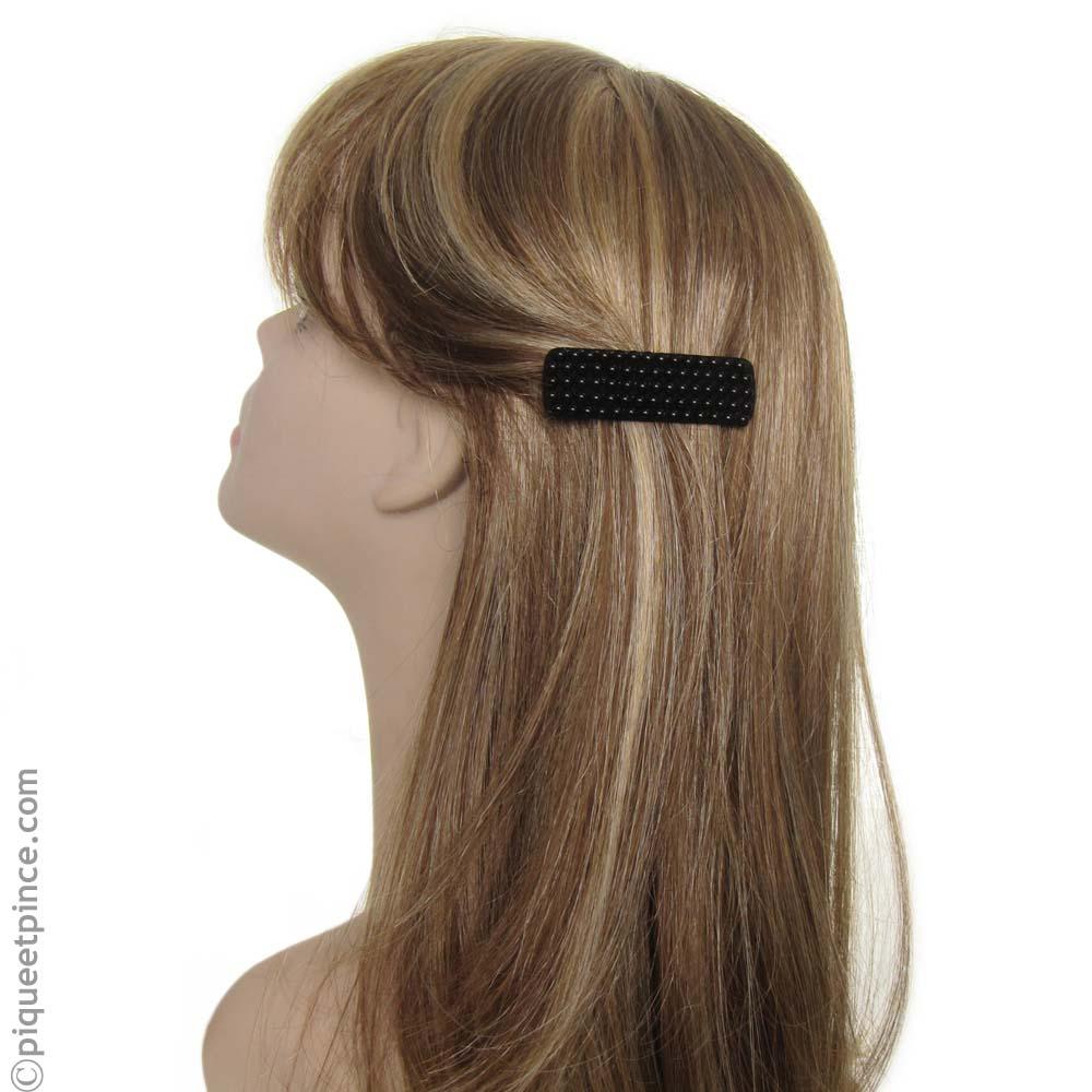 barrette cheveux fantaisie noire