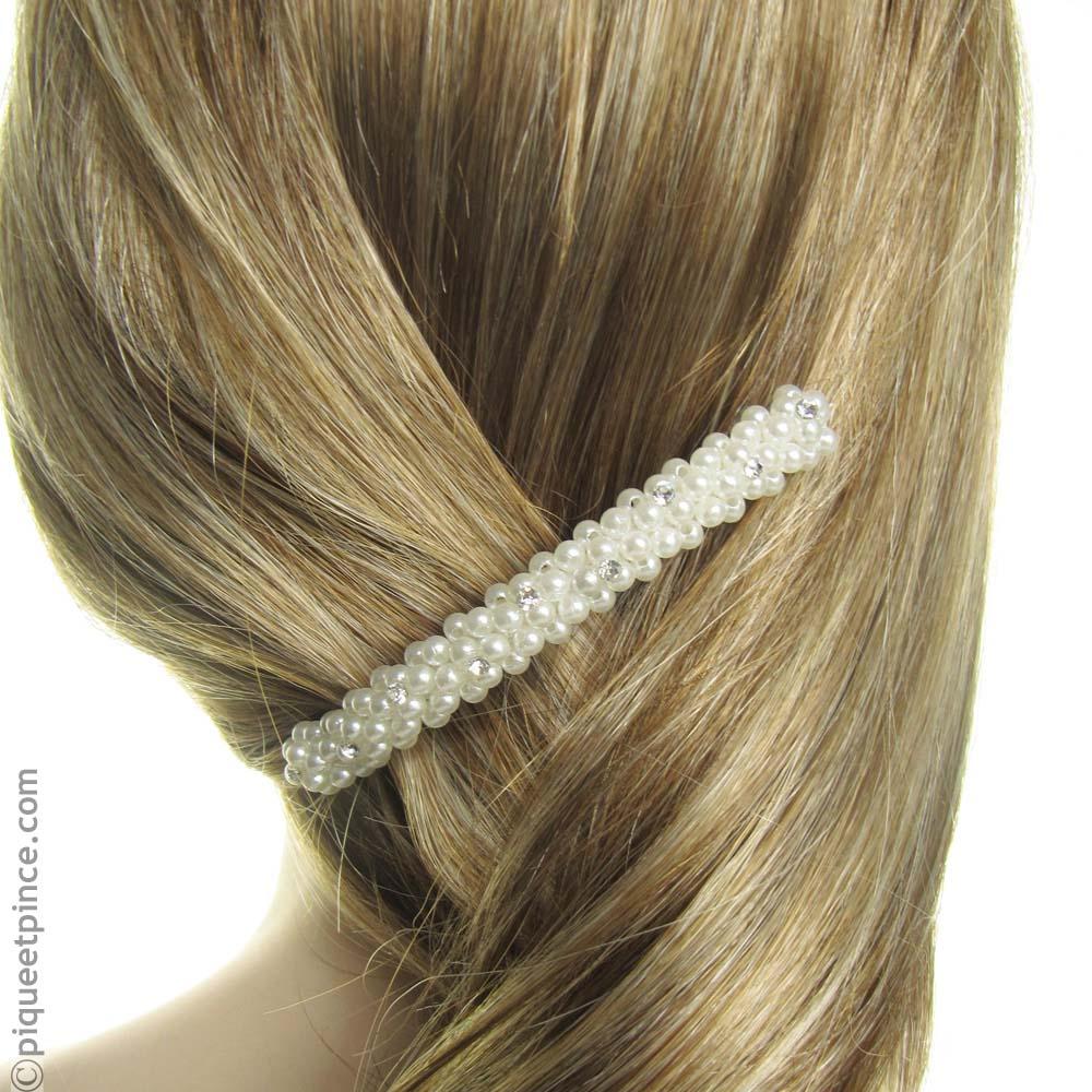 Barrette coiffure  mariage