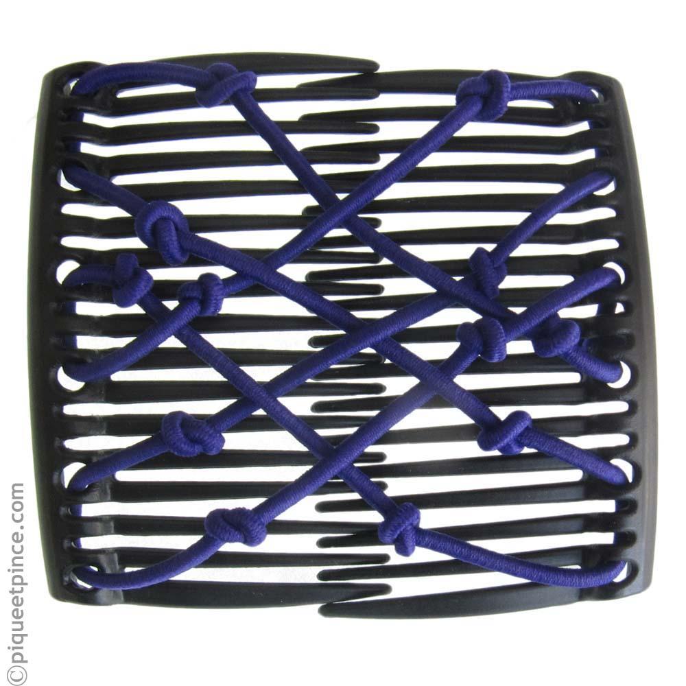Peigne brésilien élastique violet