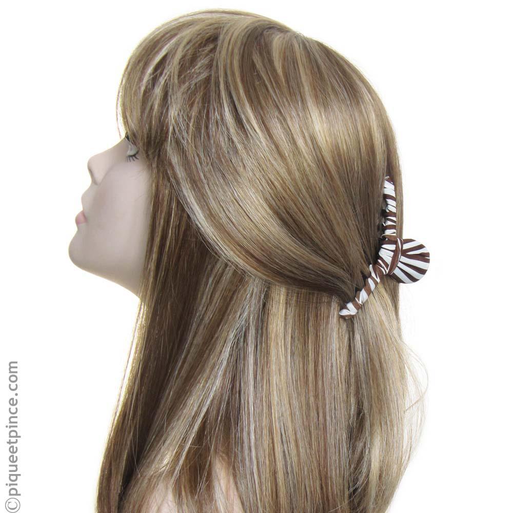 accessoire pour coiffure mi-queue