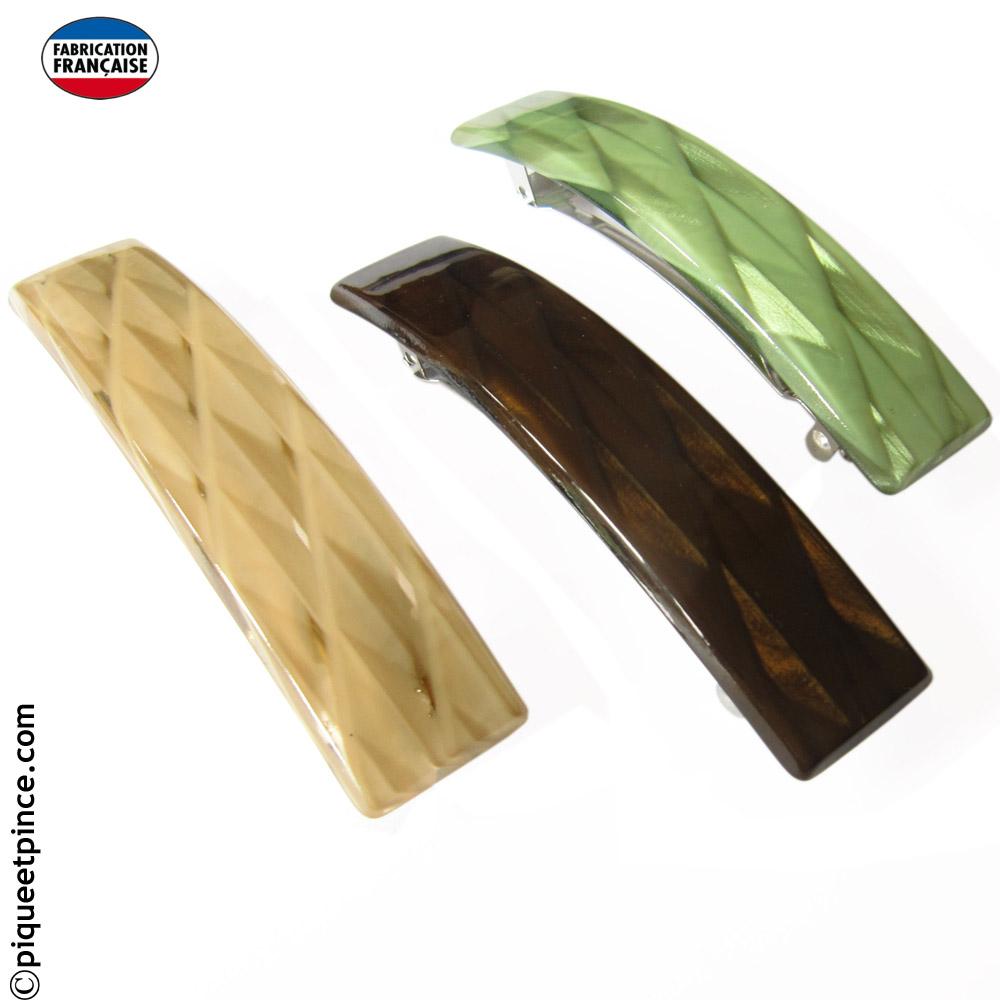 Barrettes couleur fabrication Fançaise