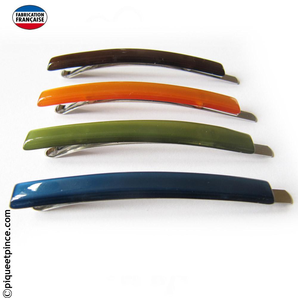 Barrette colorée pour mèche de cheveux 6 cm