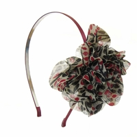 Serre-tête fleur en tissu