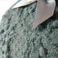 serre -tête dentelle grise (3)