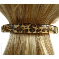 Barrette à cheveux  léopard