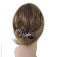 Pince à cheveux classique et nacre