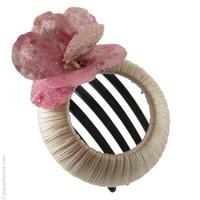 Pince à cheveux Pétales roses