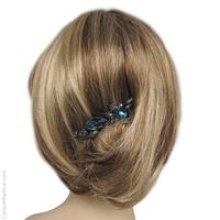 Peigne à cheveux Cantate bleu