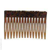 peigne à cheveux léopard