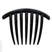 Peigne à chignon noir
