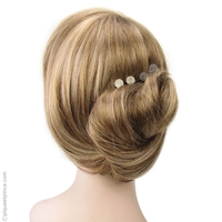 épingles à cheveux foncées et claires