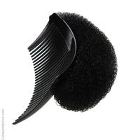 Peigne et mousse push up noir
