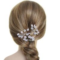 Pic pour chignon de mariée petites perles blanche